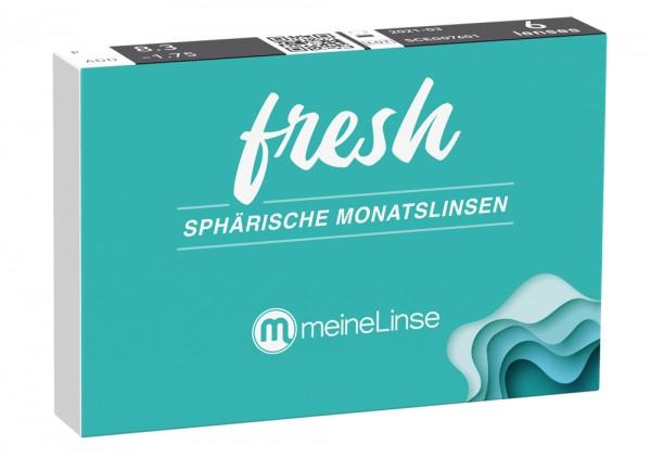 fresh SPHÄRISCHE MONATSLINSE - 6er Box