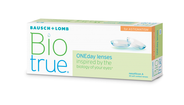 Biotrue ONEday for ASTIGMATISM - 30er Box