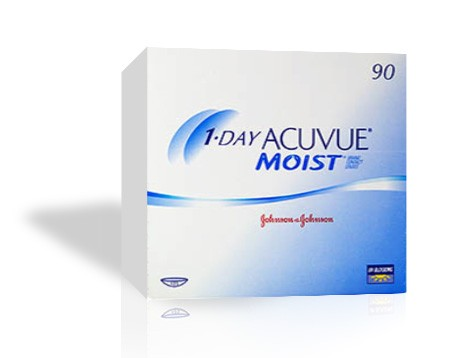 1-DAY ACUVUE MOIST - 90er Box