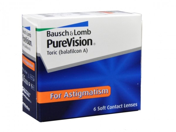 PureVision For Astigmatism - 6er Box