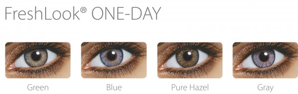 FRESHLOOK ONE DAY COLOR