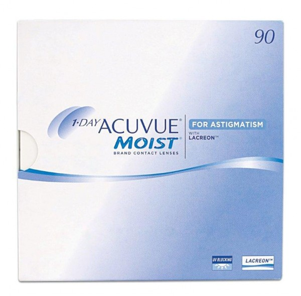 1-DAY ACUVUE MOIST FOR ASTIGMATISM - 90er Box