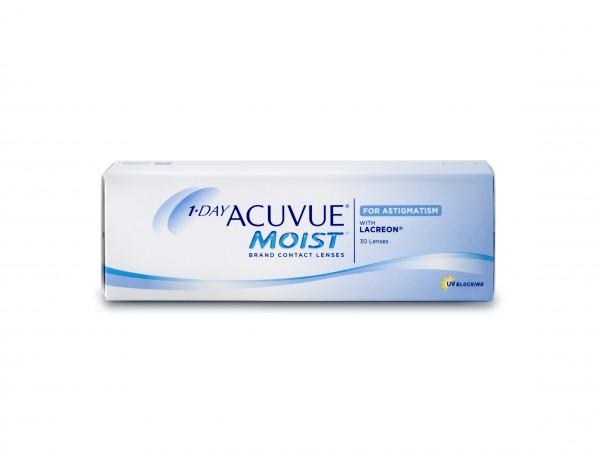 1-DAY ACUVUE MOIST FOR ASTIGMATISM - 30er Box