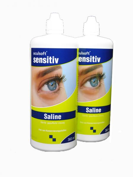 Kochsalzlösung - oculsoft Saline - Doppelpack