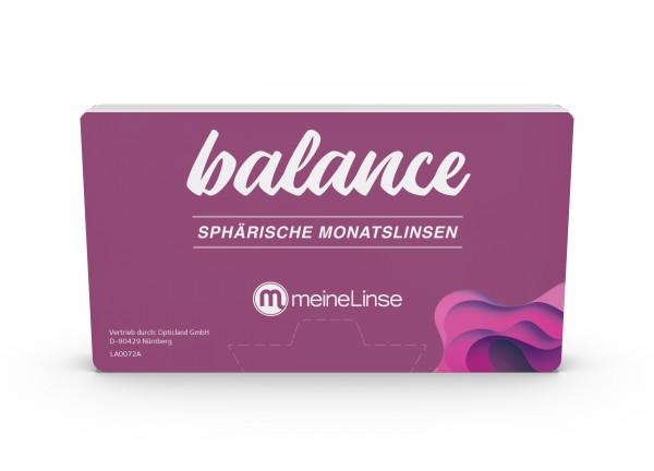 balance SPHÄRISCHE MONATSLINSE - 6er Box