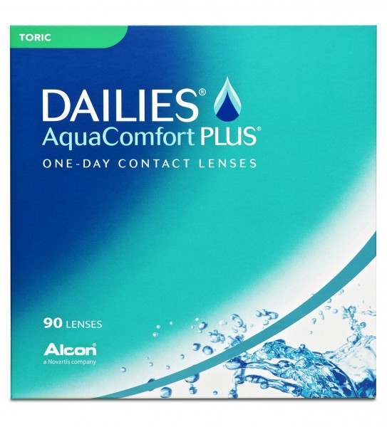 DAILIES AquaComfort PLUS TORIC - 90er Box