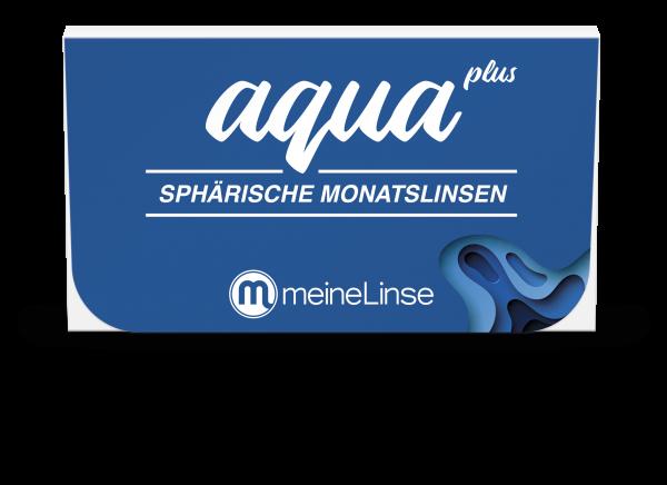 aqua plus SPHÄRISCHE MONATSLINSEN - 3er Box
