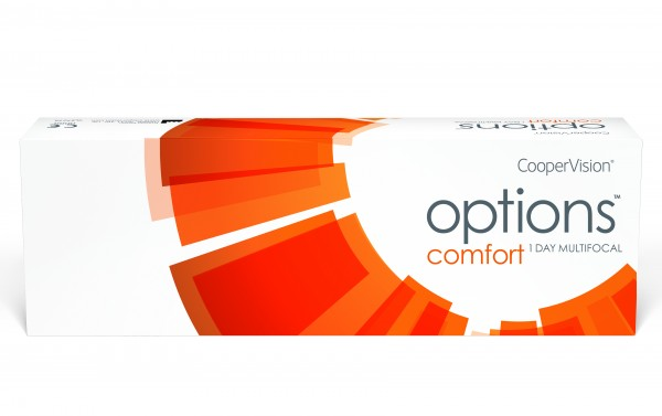 options comfort 1 DAY MULTIFOCAL - 30er Box