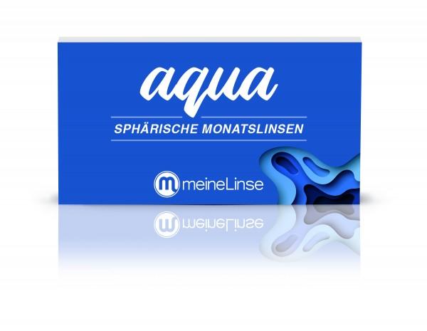 aqua SPHÄRISCHE MONATSLINSE - 3er Box