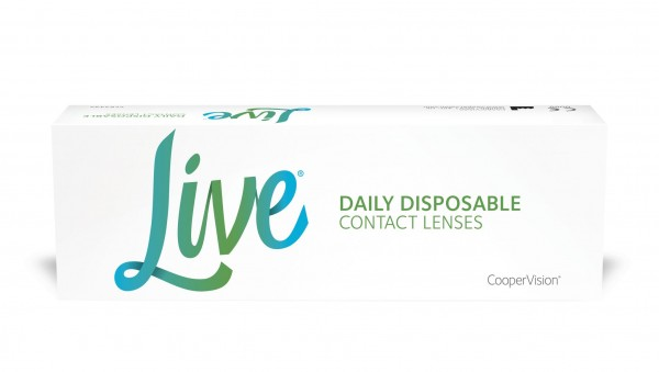 Live DAILY DISPOSABLE - 30er Box