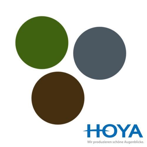 2 Sonnenschutzgläser in Kunststoff inkl. Superentspiegelung und Hartschicht von HOYA