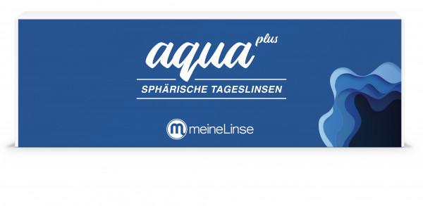 aqua plus SPHÄRISCHE TAGESLINSEN - 30er Box