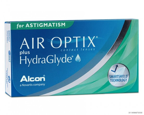 AIR OPTIX plus HydraGlyde for ASTIGMATISM - 6er Box