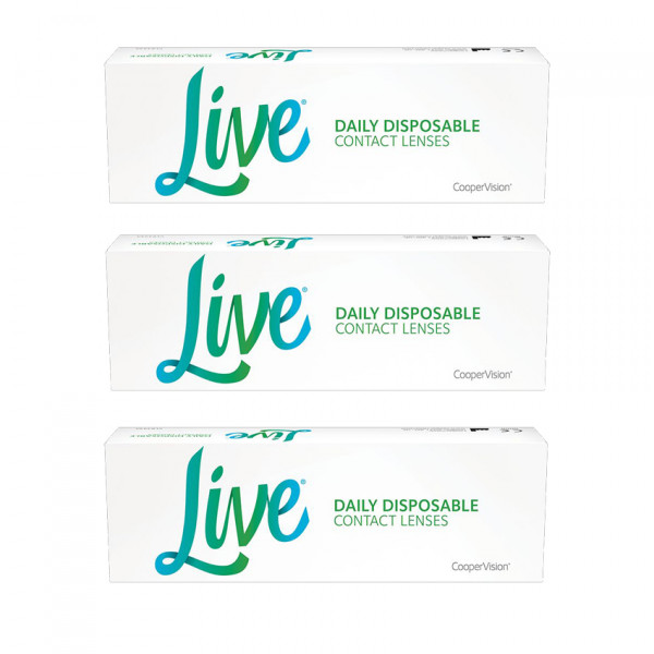 Live DAILY DISPOSABLE - 90er Box