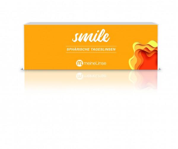 smile SPHÄRISCHE TAGESLINSEN - 30er Box